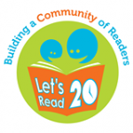 Let's Read 20 logo